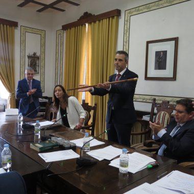 Fernando Suárez Barcia, alcalde de Ribadeo