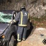 Herido un Varón en Accidente de Tráfico en Cudillero