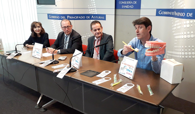 El Gobierno de Asturias amplía a toda la etapa de Infantil la cobertura del programa de salud bucodental La conquista de la boca sana