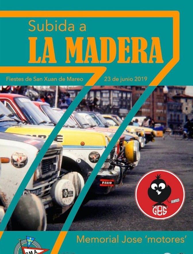 Últimos Días de Inscripción para la VII Subida a la Madera para Vehículos Históricos