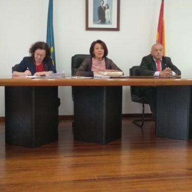 Pleno de Organización en El Franco, este viernes, 28 de junio