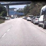 Las asociaciones de vecinos de Armental y de Sante, preocupadas por la inseguridad vial en la AS-25