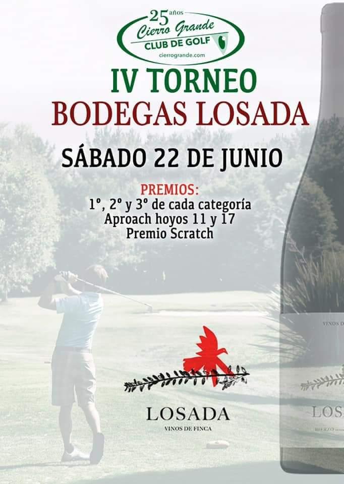 IV Torneo Bodegas Losada de Golf en el Campo Tapiego de Cierro Grande