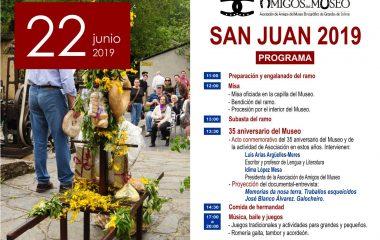 Amigos del Museo de Grandas de Salime conmemora el XXXV aniversario de la creación del centro