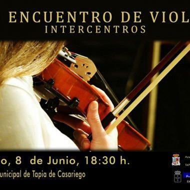 III Encuentro de Violín Intercentros en Tapia de Casariego
