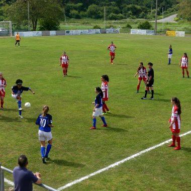 Empate sin goles en el Real Tapia-Navia de Fútbol Femenino