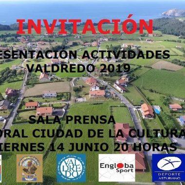 Presentación en Gijón de las Actividades de la Asociación de Vecinos de Valdredo (Cudillero)