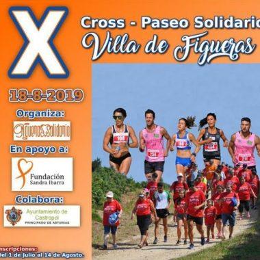 Abiertas las Inscripciones para el X Cross/Paseo Solidario Villa de Figueras