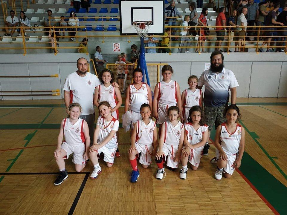El CB Marchica, Campeón de la Copa de Asturias Benjamín Femenino