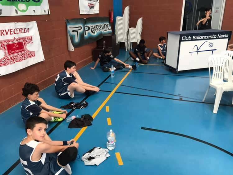 Navia acoge el sábado la Final a Cuatro de la Copa Asturias Alevín Masculino de Baloncesto