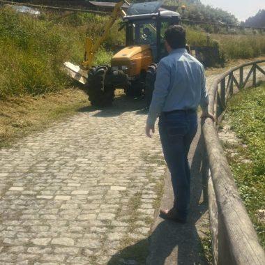 Plan de limpieza y desbroce urgente para sendas y playas de Valdés