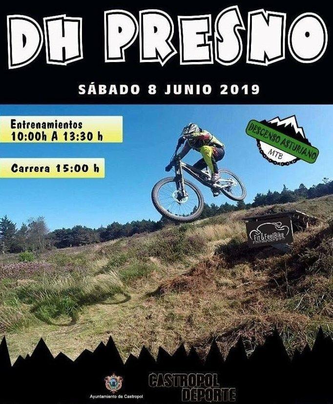 Descenso BTT Presno Puntuable para el Open de Asturias