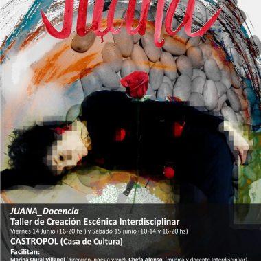 Taller Juana_Docencia, na Casa de Cultura de Castropol