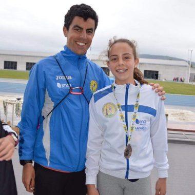 María García (CAO Navia), Bronce en la Final Regional Escolar de Combinadas Sub-12