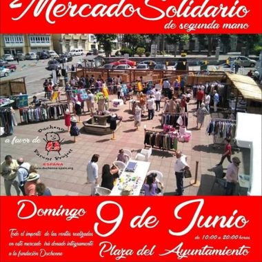 Mercado Solidario de 2ª Mano en La Caridad el próximo Domingo