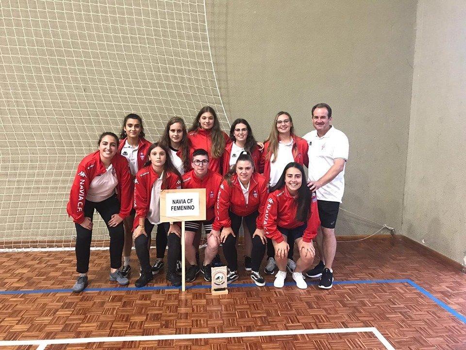 El Navia Femenino, Bronce en el XXV Torneo Internacional de Fútbol Sala Base Villa de Luarca