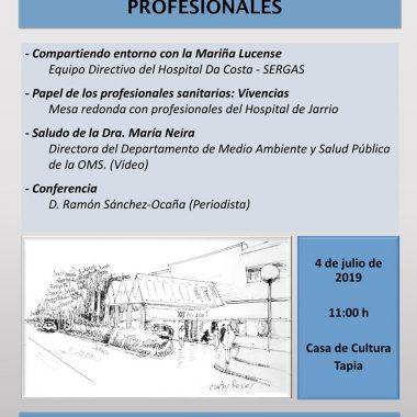 La conmemoración del 30 aniversario del Hospital de Jarrio llega a Tapia de Casariego