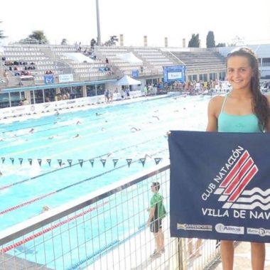 Gran actuación de la Nadadora Laura Pérez (Club Villa de Navia), en el Nacional Infantil de Verano