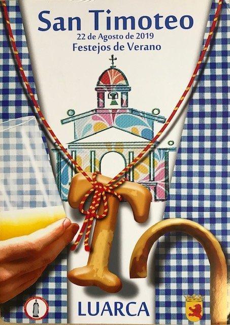 Se falla el XIII Concurso Nacional de Carteles San Timoteo 2019