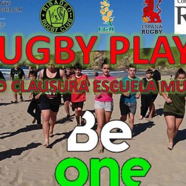 El Beone cerrará las Escuelas Municipales de Rugby Playa con un Torneo en el arenal de Peñarronda