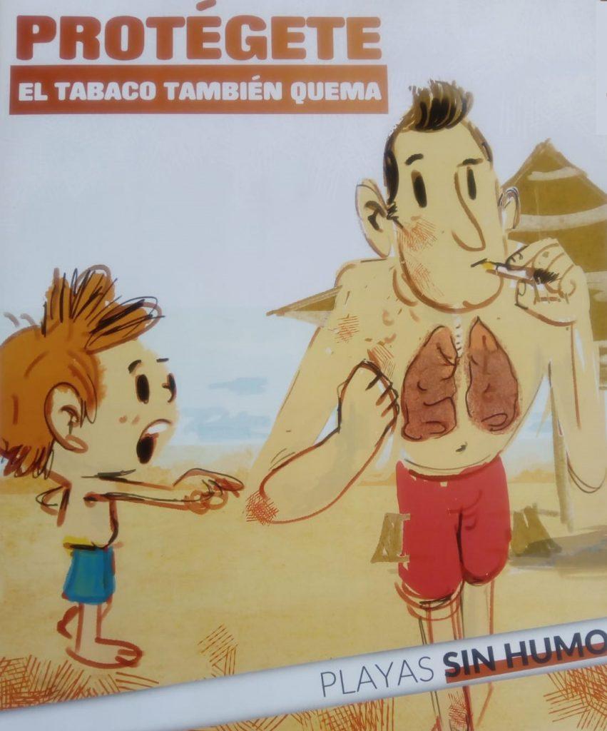 """Las playas del concejo de El Franco son """"Playas Sin Humo"""""""