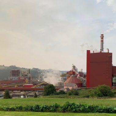 Mejora el comportamiento ambiental de Ence Navia en el año 2019