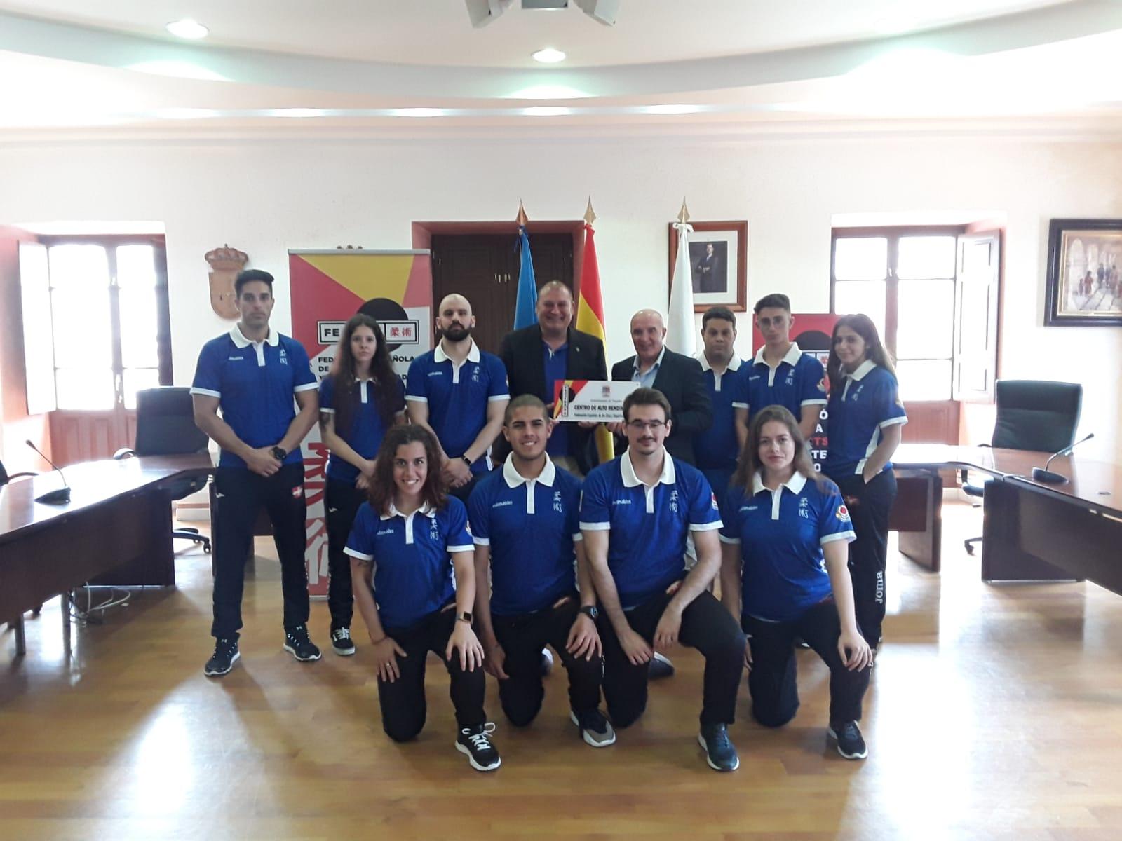 Concentración de la Selección Española de Jiu-Jitsu en Vegadeo