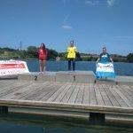 Raquel Pérez, Campeona de Asturias Absoluta de Natación en Aguas Abiertas