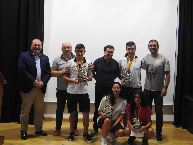 Homenaje en San Tirso de Abres a los Remeros Medallistas en los Campeonatos de España