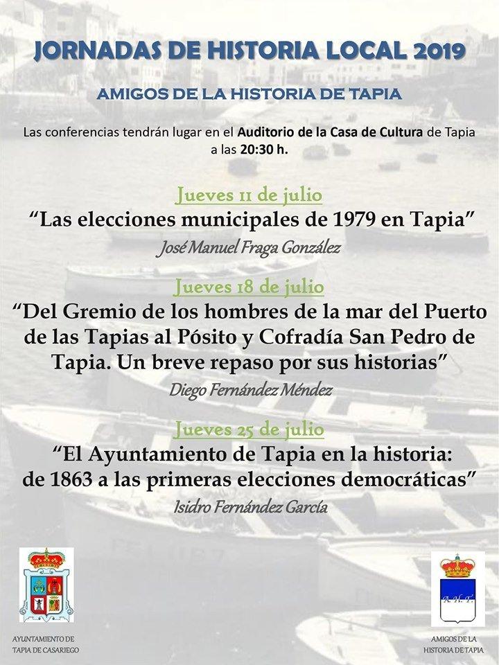 V Jornadas de la Historia en Tapia de Casariego
