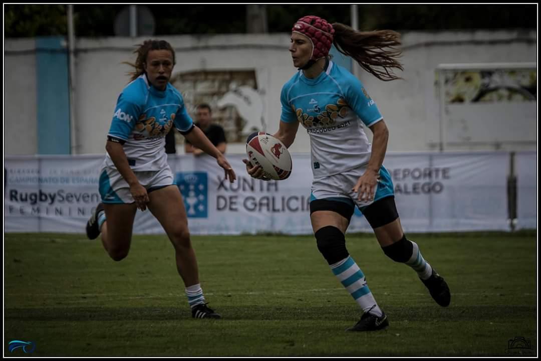 La Internacional Ana Sobrino visitó las Escuelas de Rugby Playa del Beone
