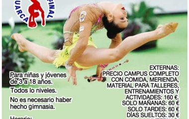 El Club Recta Final celebrará su Campus de Verano de Gimnasia Rítmica del 8 al 15 de Julio