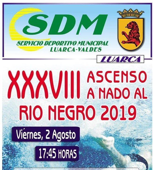 Luarca acoge el viernes 2 de agosto el 38 Ascenso a Nado al Río Negro