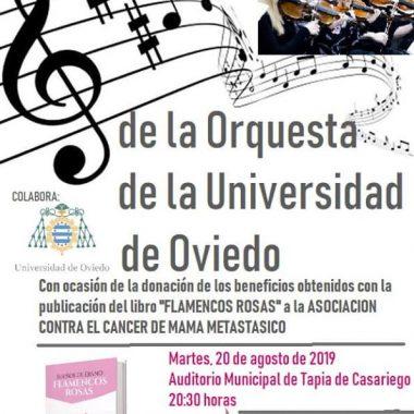 Concierto Solidario de la Orquesta de la Universidad de Oviedo en Tapia de Casariego