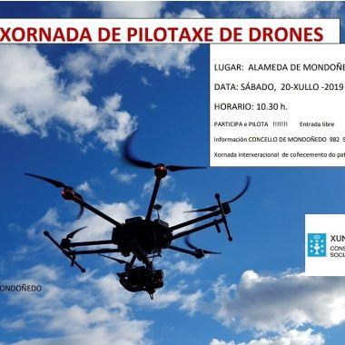 El Concello de Mondoñedo organiza este sábado una Jornada de Pilotaje de Drones