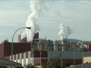 """La Asociación de Vecinos de Armental (Navia) denuncia """"ruidos y malos olores"""" provenientes de la fábrica de Ence"""