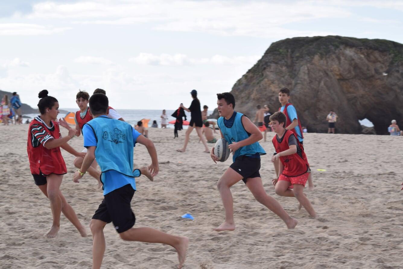 Éxito de Participación y Público en la Clausura de las Escuelas Municipales de Rugby en Peñarronda
