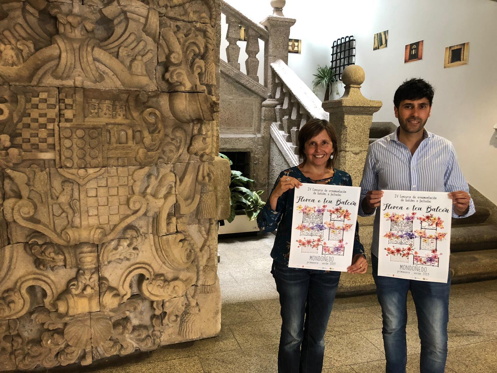 """El Concello de Mondoñedo convoca el IV Concurso de Decoración de Balcones y Fachadas """"Florea tu Balcón"""""""