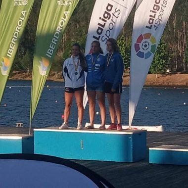 Lucia Val, Bronce en el Campeonato de España Sprint Jóvenes Promesas de Piragüismo