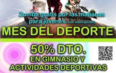 Coaña continúa celebrando el Mes del Deporte con descuentos en la utilización de instalaciones y actividades deportivas
