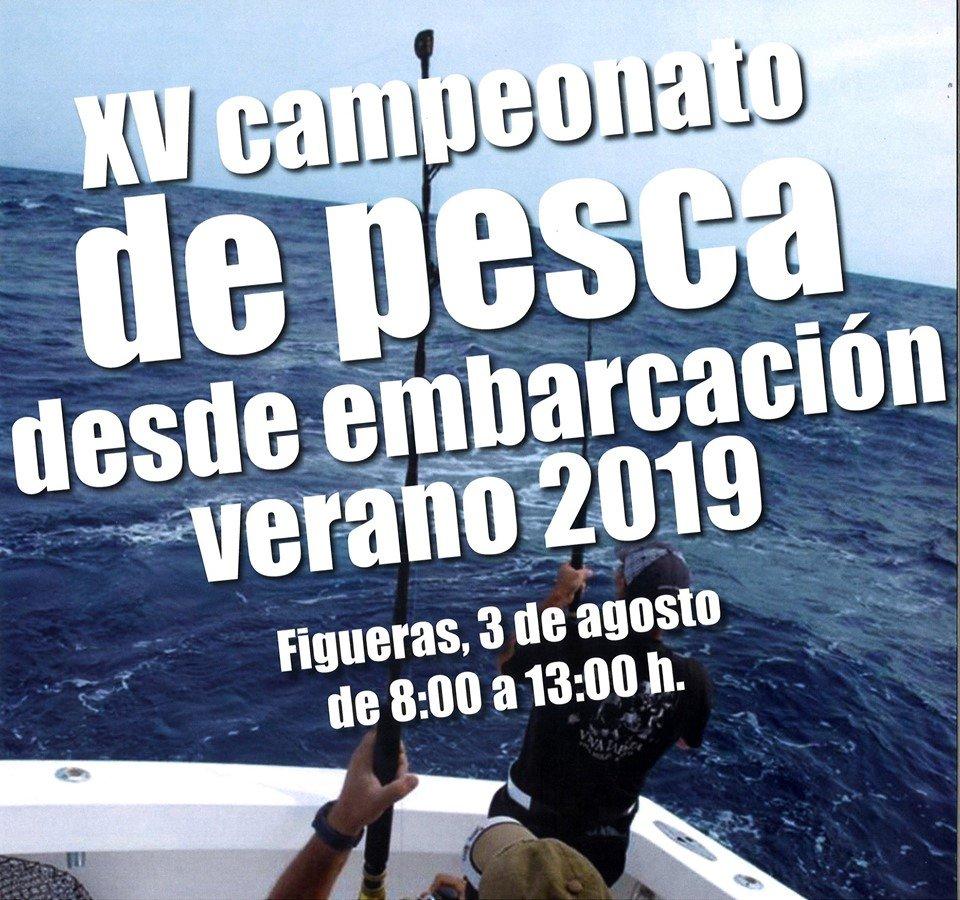 XV Campeonato de Pesca desde Embarcación en Figueras