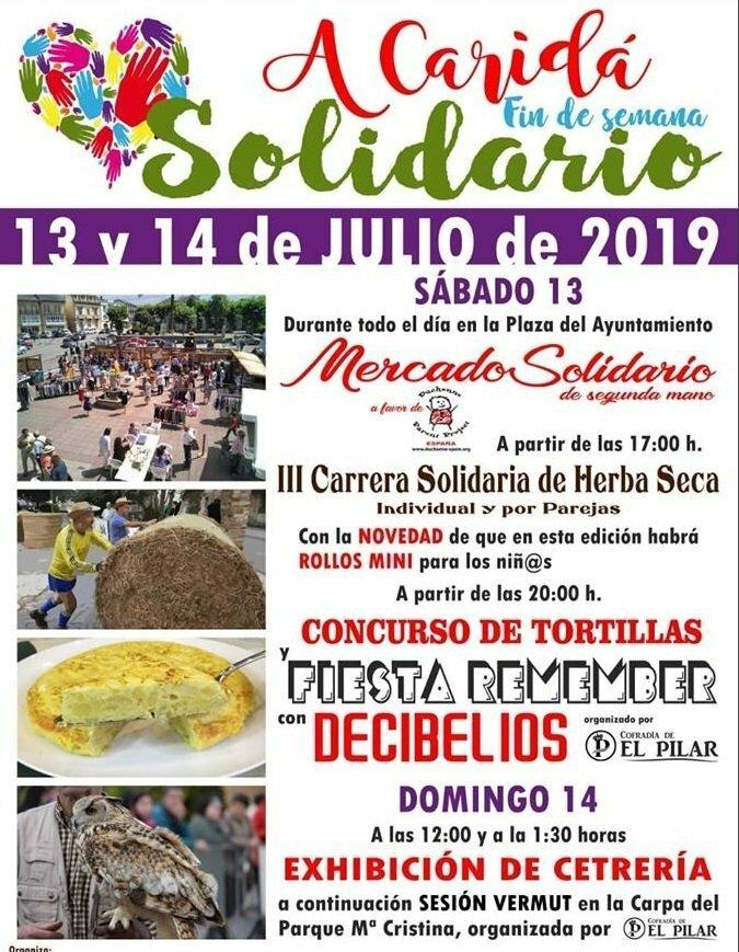 Fin de Semana de Actividades Solidarias en La Caridad organizadas por la Concejalia de Deportes