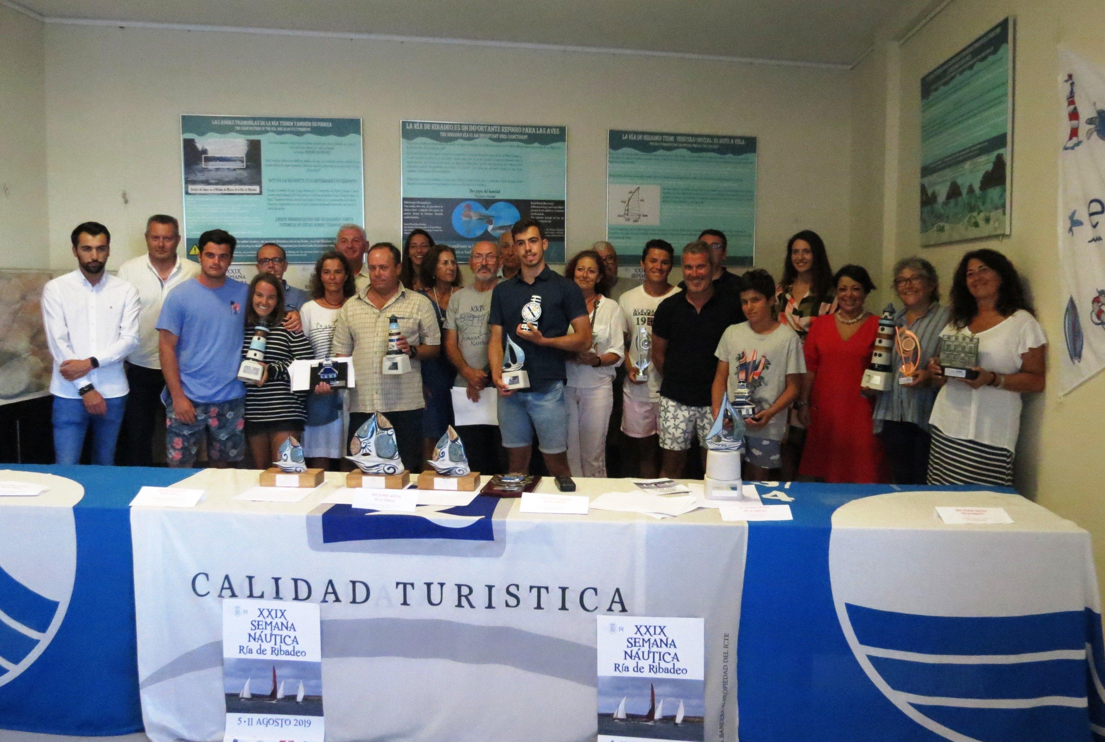Con la entrega de Trofeos fue Clausurada la 29ª Semana Náutica Ría de Ribadeo