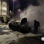 Extinguido el incendio de vehículos en Vegadeo