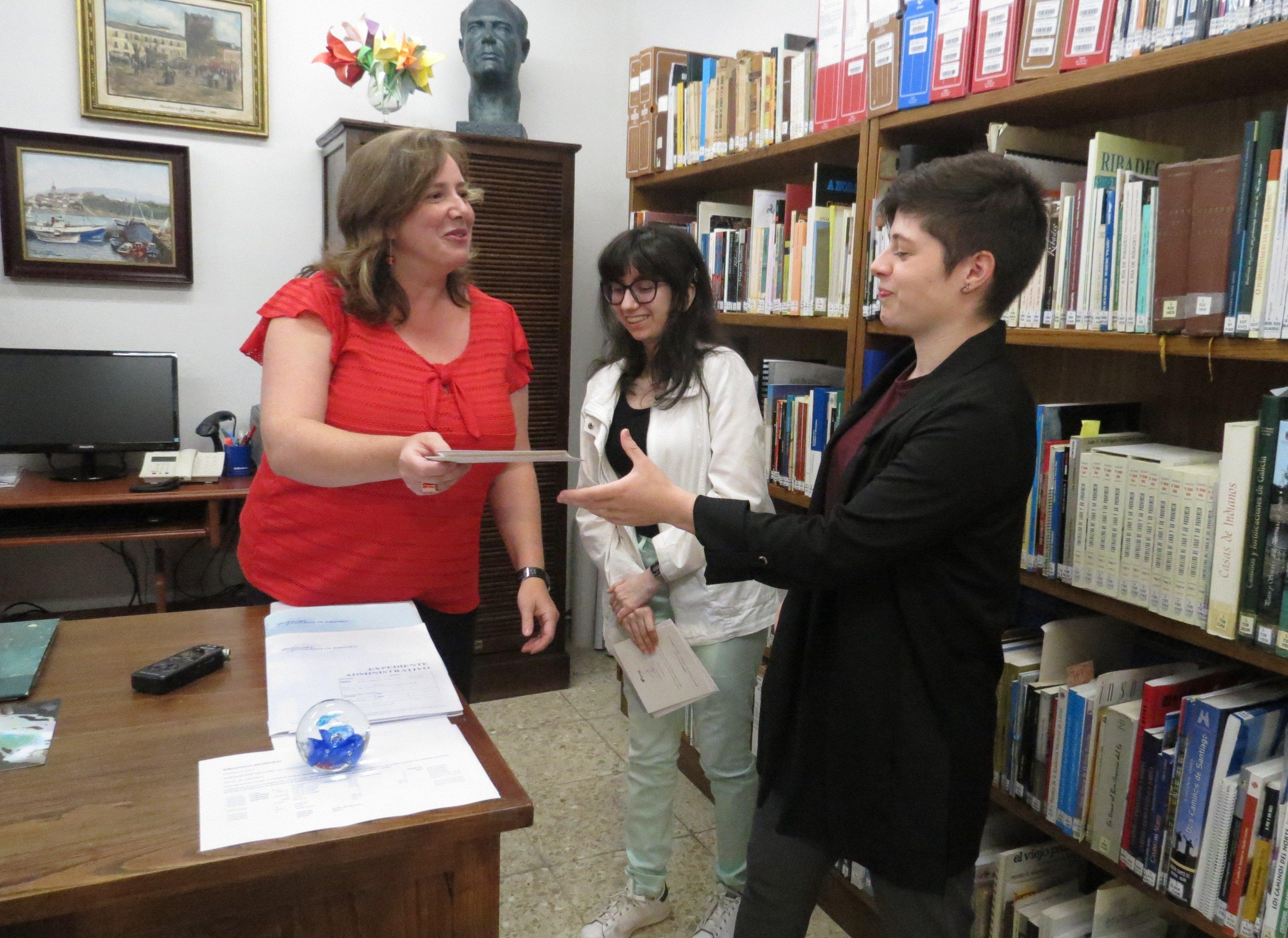 Entregados los premios del III Certamen Juvenil Literario y de Artes Plásticas Concello de Ribadeo