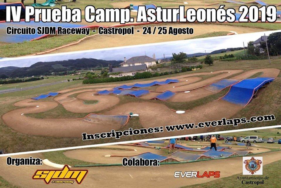 El Circuito de San Juan de Moldes acoge este fin de semana la 4ª Prueba del Campeonato Astur-Leonés de Coches Radio Control