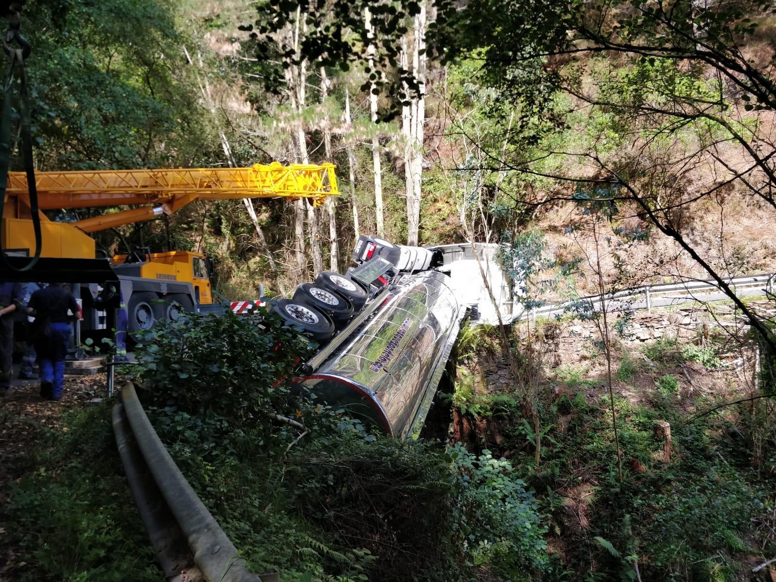 Infraestructuras destinará 75.000 euros a redactar el proyecto de intervención en la carretera As-35 Villayón-Boal