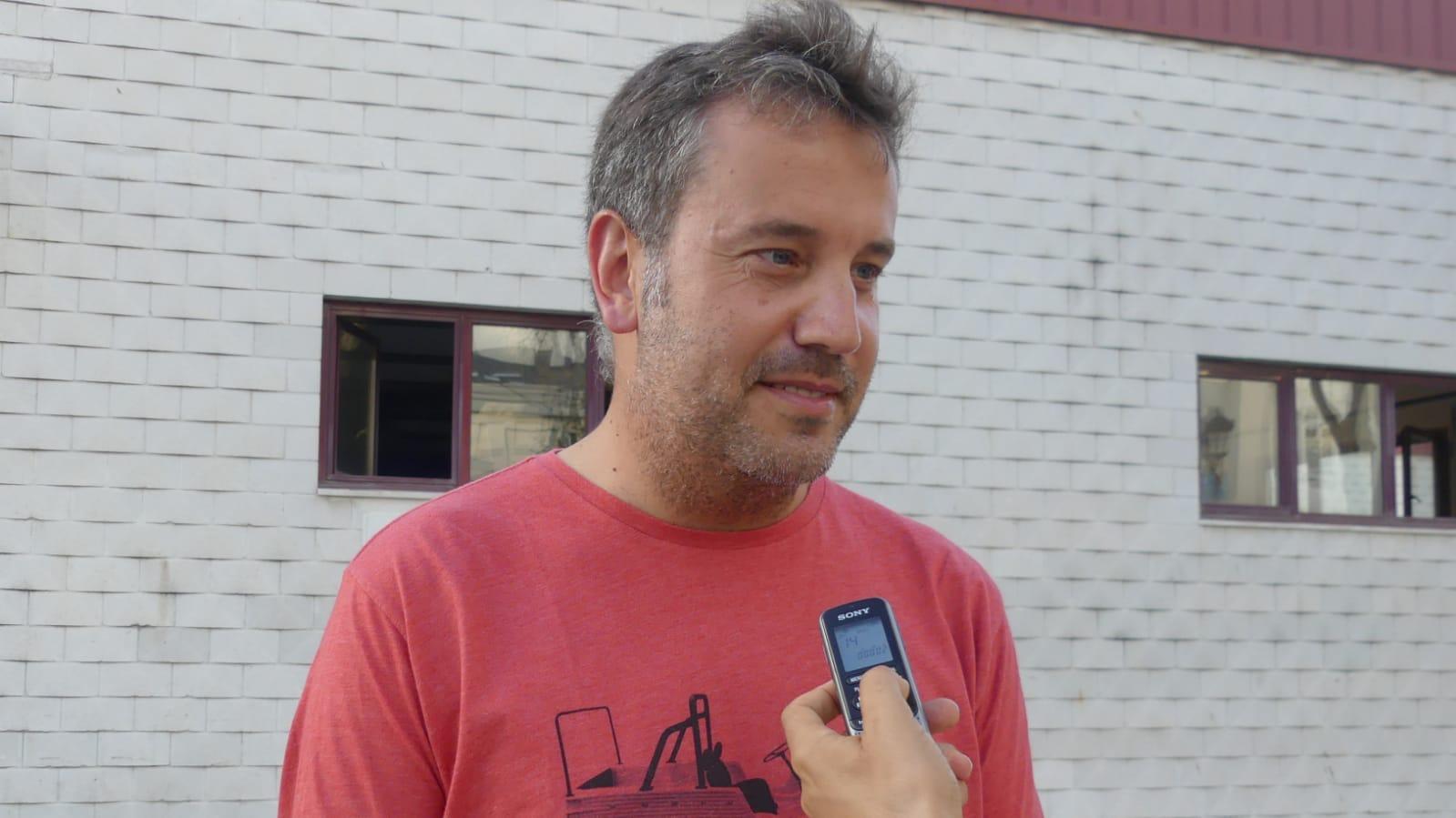 """Gonzalo Asenjo: """"el reto que Navia tiene por delante es organizar las actividades, sin que se solapen unas y otras"""""""