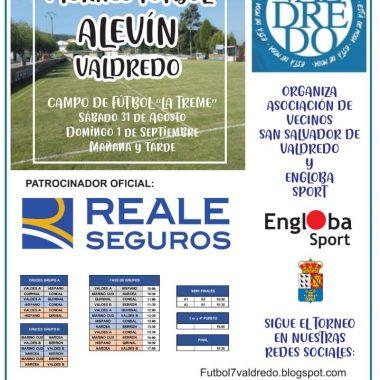 Este Sábado se celebra el I Torneo de Fútbol Alevín de Valdredo (Cudillero)