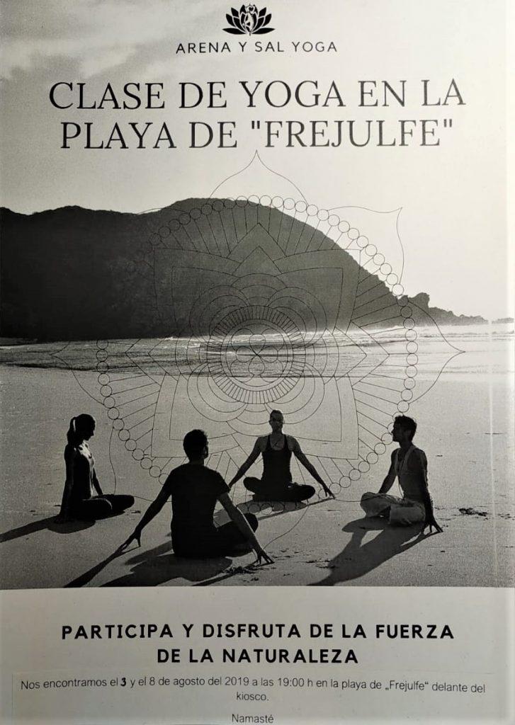 """Fredi Fernández: """"de mi primera clase de yoga salí como recién nacida"""""""